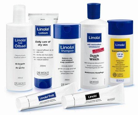 přehled výrobků Linola