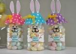 Velikonoční zajíčci z plastové láhve