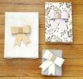 Z obyčejné krabice vyrobíte elegantní dárkovou mašli